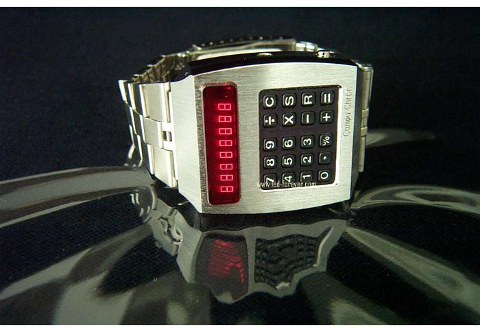 Compuchron LED watch