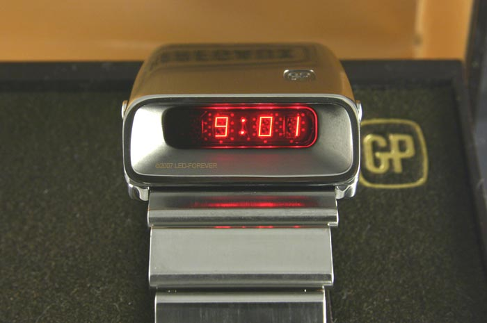Girard-Perregaux LED watch