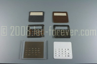 HP-02 Keypad designs and stencils