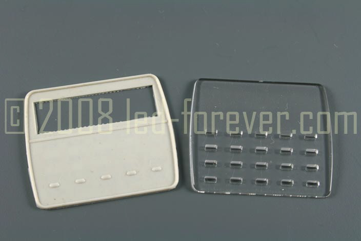 HP-02 Keypad stencil and rubber