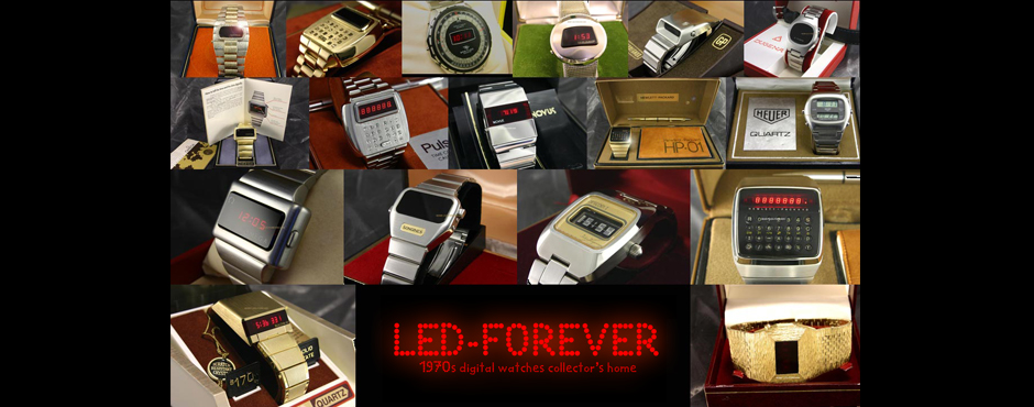 UNIQUE 1977 Hewlett-Packard HP-01 CHROME PROTOTYPE LED ...