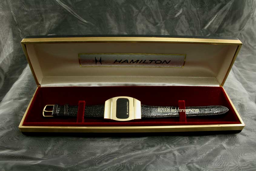 Hamilton LED watch