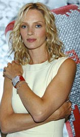 Uma Thurman Diamond Fiction