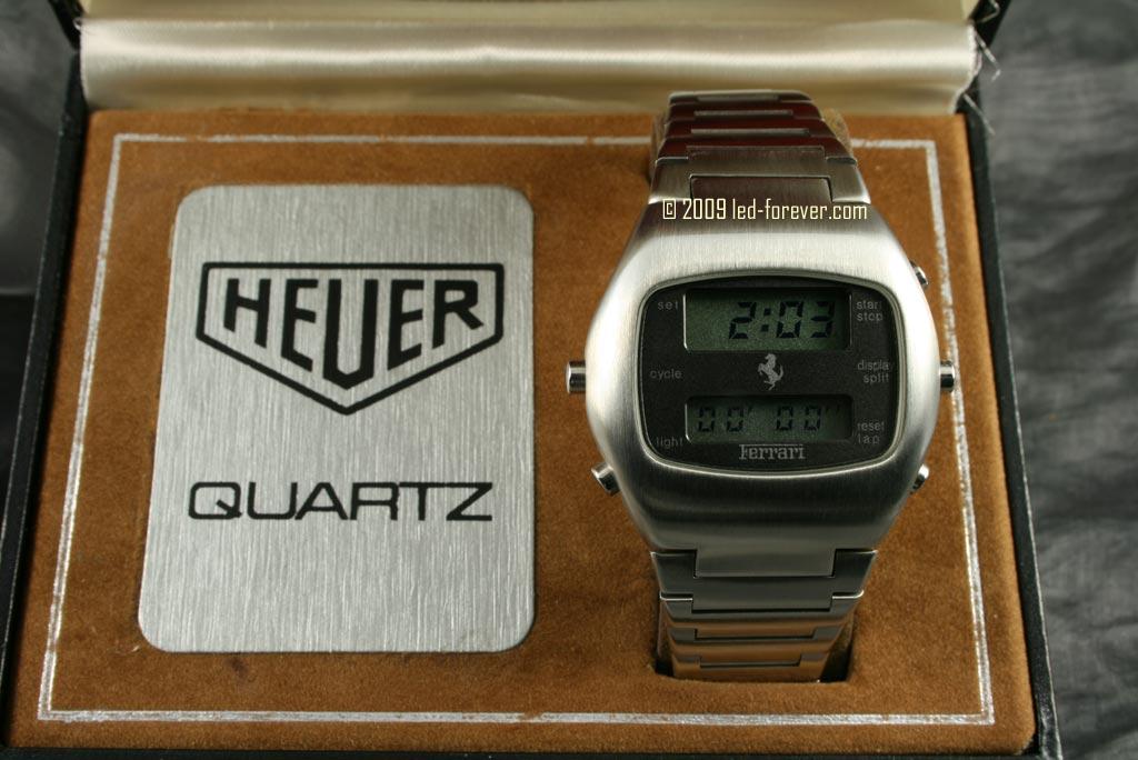 Heuer Chronosplit LCD Ferrari 2