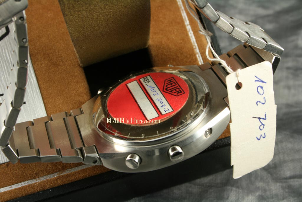 Heuer Chronosplit LCD Ferrari 9