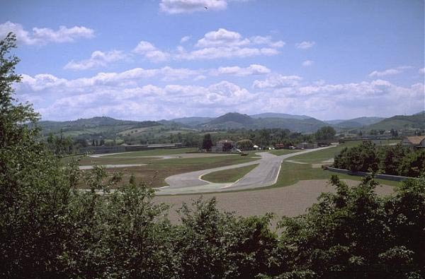 Ferrari test track Fiorano 1972