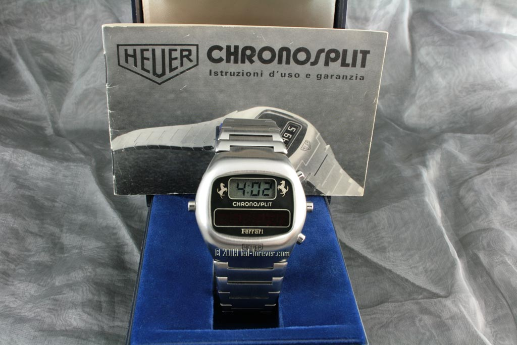Chronosplit Ferrari LED 1