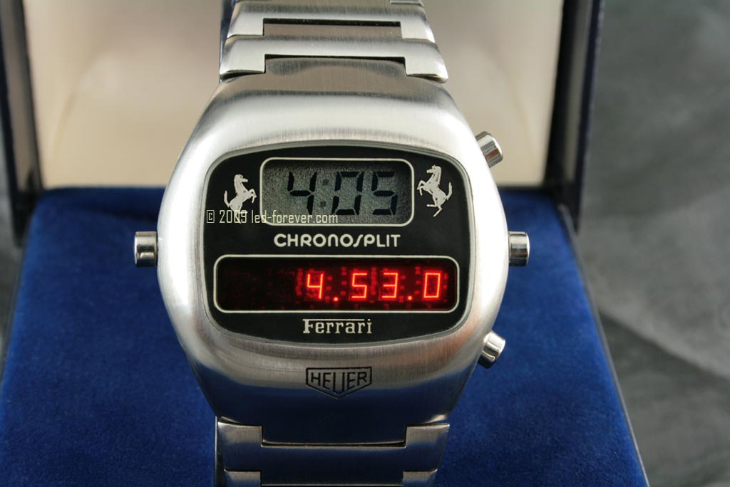 Chronosplit Ferrari LED 4