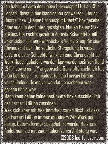 Heuer Chronosplit LCD 8