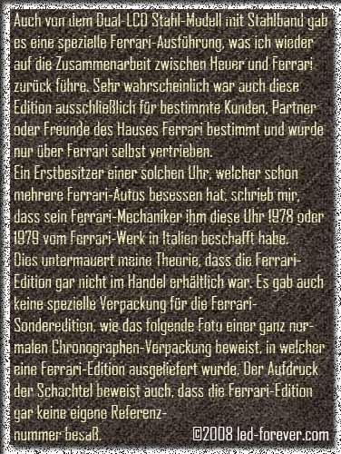 Heuer Chronosplit LCD 7