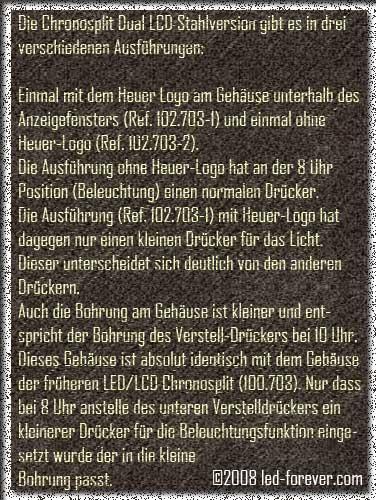Heuer Chronosplit LCD 6