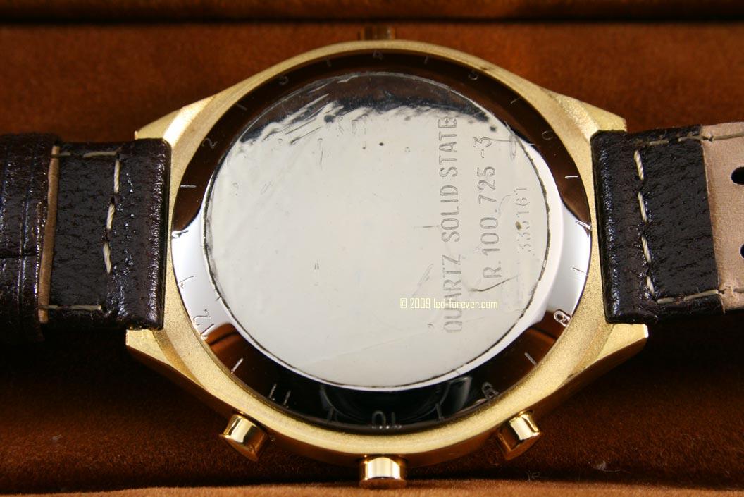 Heuer Chronosplit gold strap 5