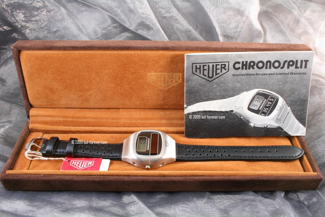 Heuer Chronosplit steel strap 1