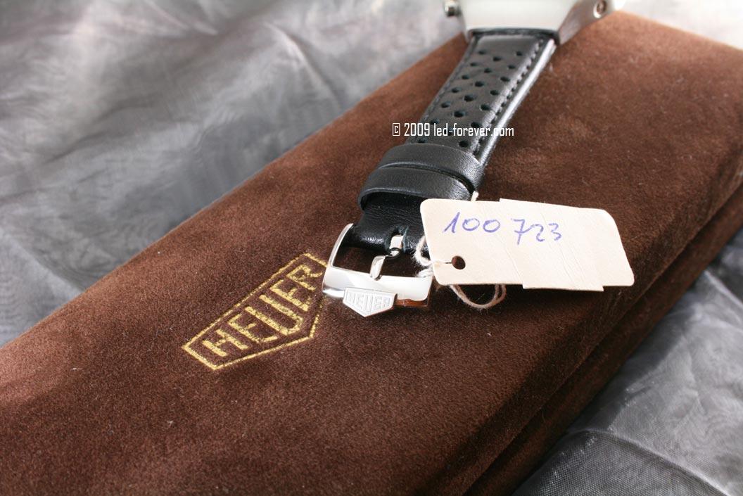 Heuer Chronosplit steel strap 8