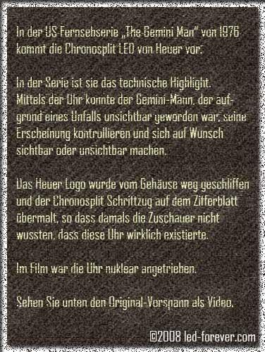 Heuer Chronosplit LED 7