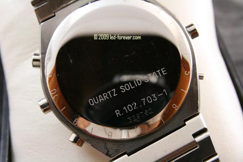 Chronosplit LCD R102.703-1 back