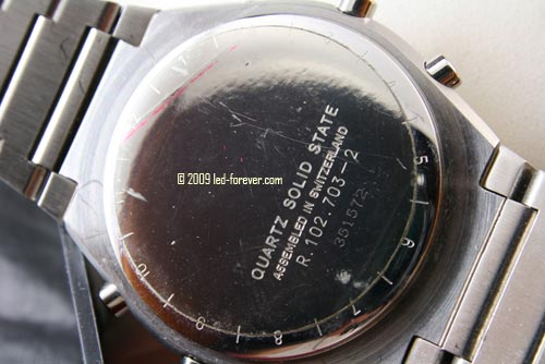 Chronosplit LCD R102.703-2 back