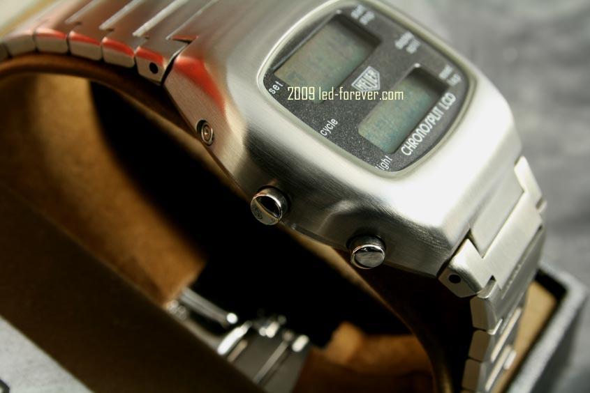 Heuer Chronosplit LCD Stahl 5