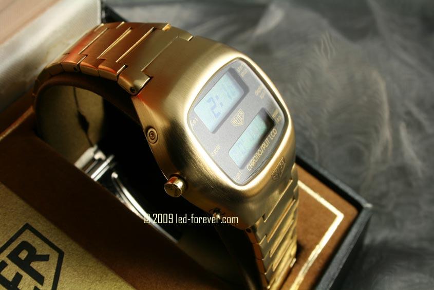 Heuer Chronosplit LCD Gold 4
