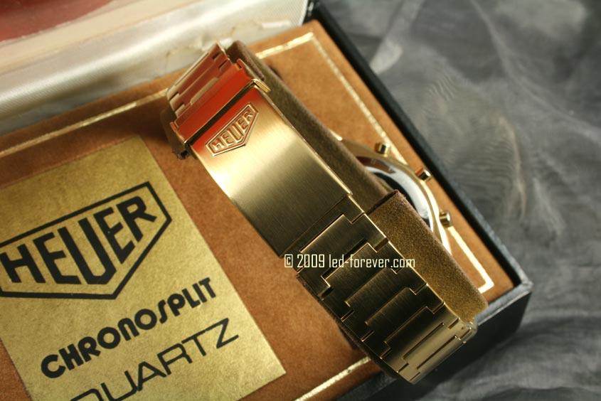 Heuer Chronosplit LCD Gold 7
