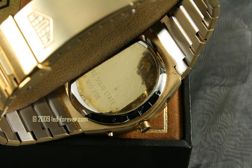 Heuer Chronosplit LCD Gold 8