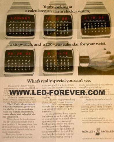 HP-01 Werbung 1978