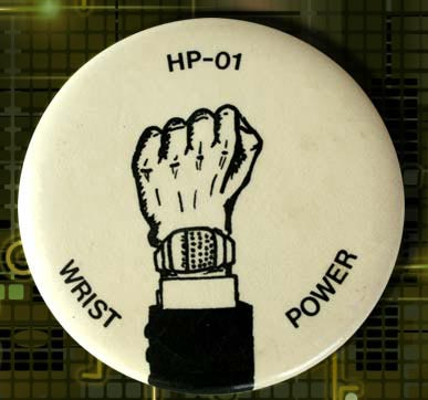 HP-01  Wrist Power Button 1977