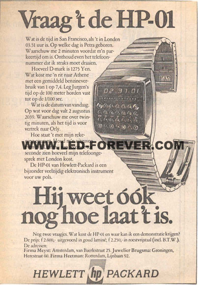 HP-01 ad Dutch