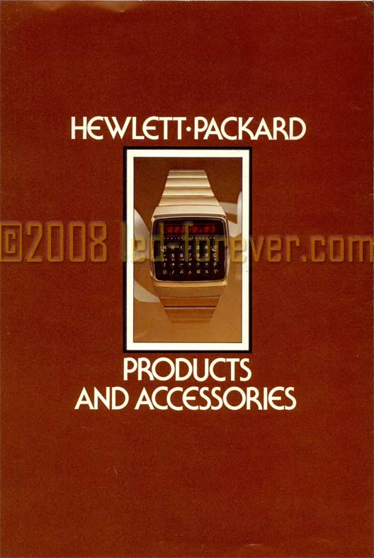 HP-01 accessories brochure