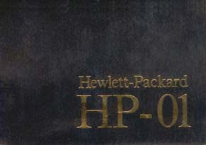 HP-01 manual black
