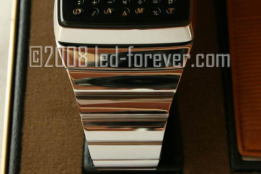 HP-01 prototype raised keys chrome #3