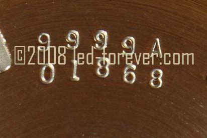 HP-01 prototype raised keys ss S/N