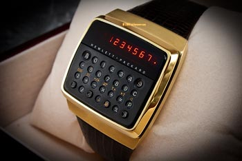 HP-01 LED watch gold