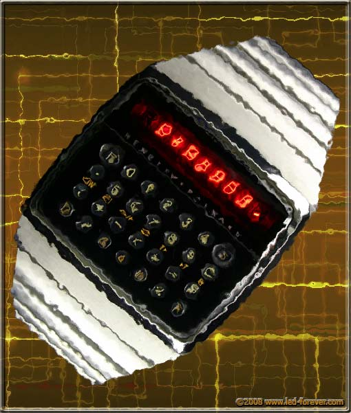 HP-01 LED watch glass (steel)
