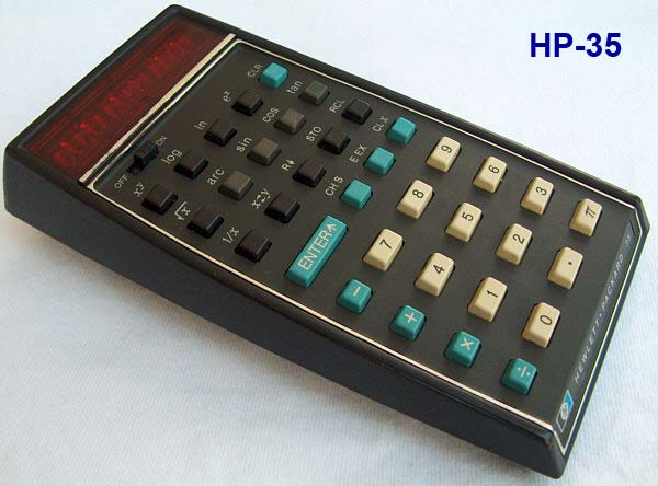 HP-35 LED pocket caclulator