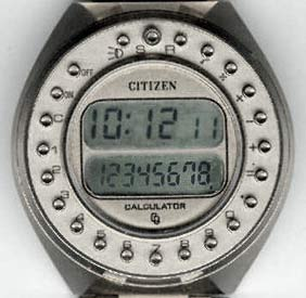 Citizen 9090A calculator watch
