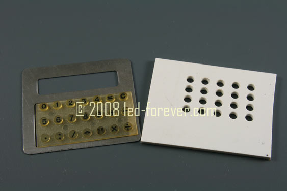 HP-01 prototype parts