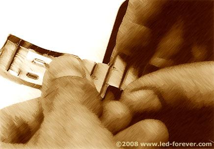 HP-01 bracelet shortening