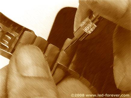 HP-01 bracelet adjustment