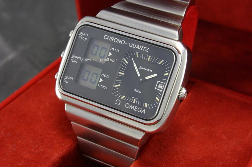 digial watches with two clockworks analogue digital
