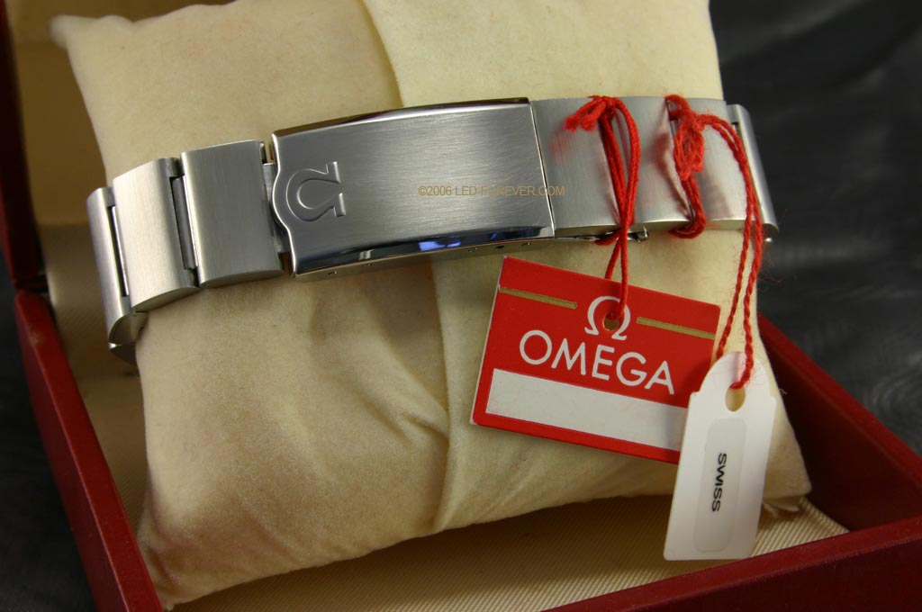 Omega Time Computer LED watch