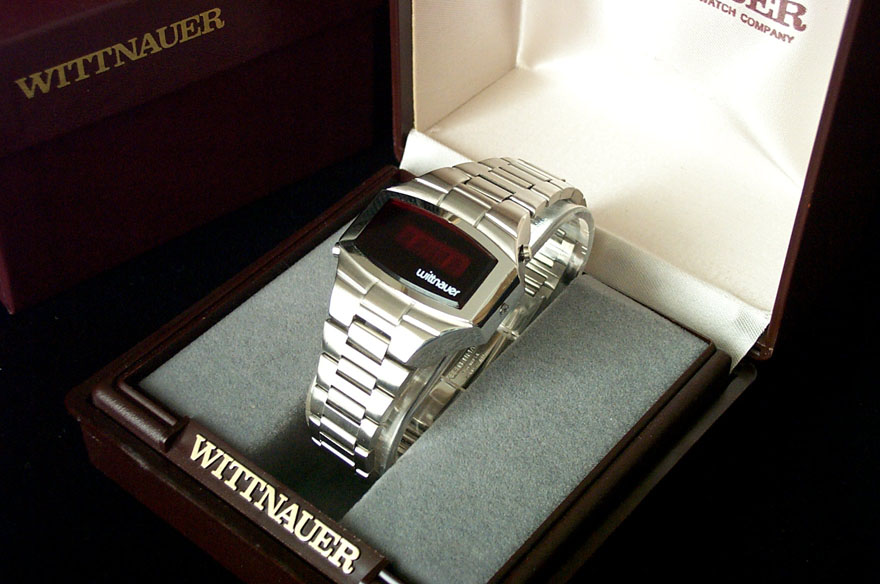 Wittnauer LED watch